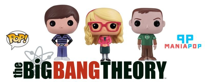 Funko Pop - The Big Bang Theory - Vendidos Separadamente