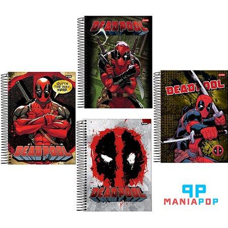 Caderno Universitário Deadpool - 200 fls
