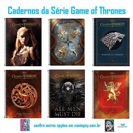 Caderno Universitário Capa Dura 200 folhas - Game of Thrones
