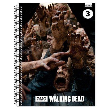 Caderno Universitário - 200 fls - The Walking Dead