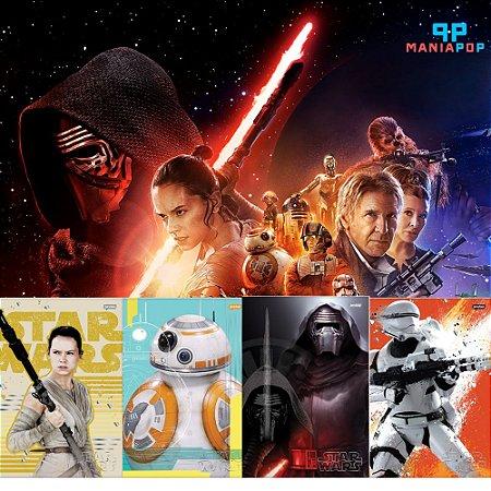 Caderno Universitário 200 fls - Star Wars - O Despertar da Força