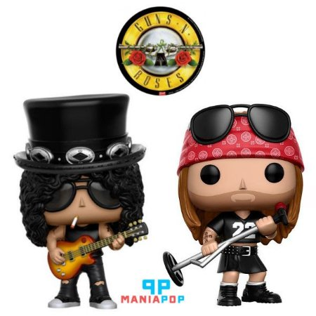 Funko Pop - Guns n Roses - Axl Rose ou Slash