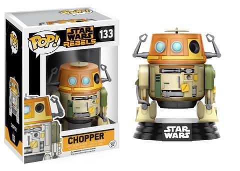 Funko Pop - Star Wars Rebels - Chopper ou Ezra