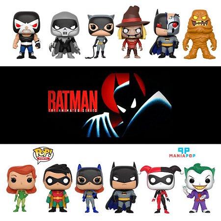 Funko Pop: Batman A Serie Animada - Vendidos Separadamente
