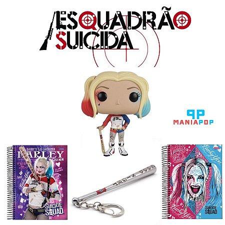 Pacote Harley Quinn - Esquadrão Suicida