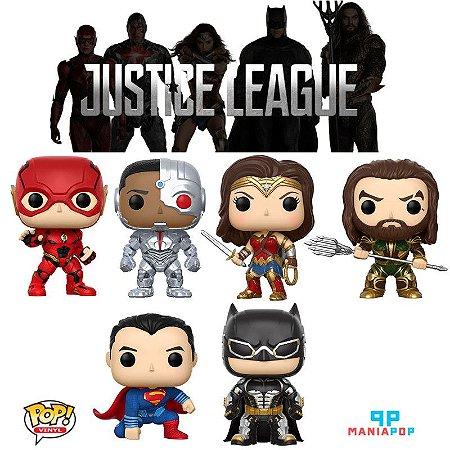 Funko Pop - Liga da Justiça - Vendidos Separadamente