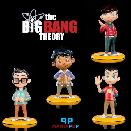 The Big Bang Theory - Q-Fig - Vendidos Separadamente