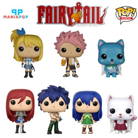 Funko Pop - Fairy Tail - Vendidos Separadamente