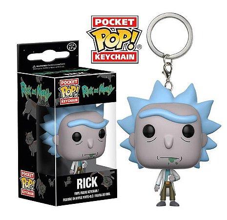 Funko Pocket - Rick and Morty - Chaveiros Vendidos Separadamente