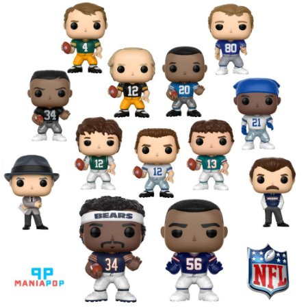Funko Pop - Lendas da NFL - Vendidos Separadamente