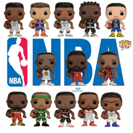 Funko Pop - NBA - Vendidos Separadamente