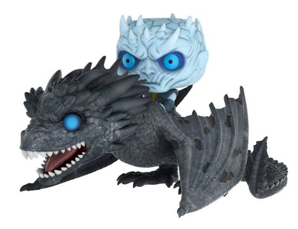 Funko Pop - Night King com Drogon - Game of Thrones