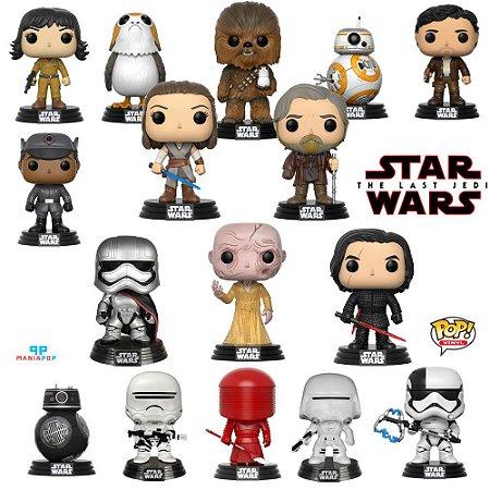 Pacotes Funko Pop - Star Wars - Os Últimos Jedi