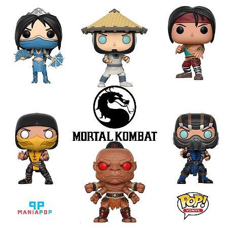 Funko Pop - Mortal Kombat - Vendidos Separadamente
