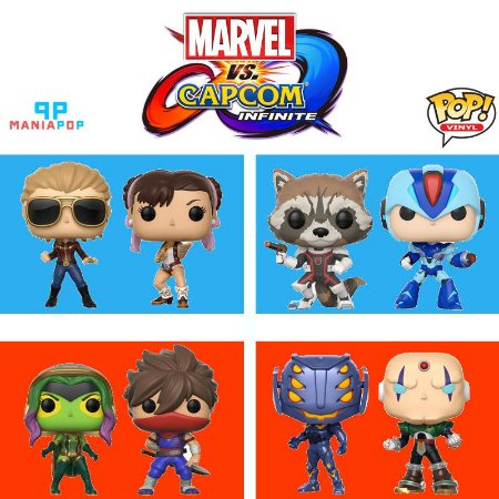 Funko Pop - Marvel vs Capcom - Infinite