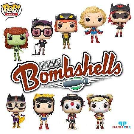 Funko Pop - Bombshells - DC Comics - Vendidos Separadamente