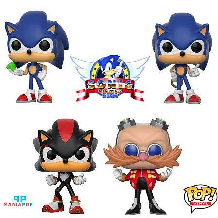Funko Pop - Sonic - Vendidos Separadamente