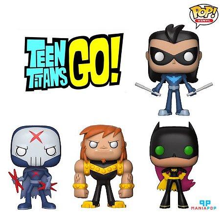 Funko Pop - Teen Titans - DC Comics - Vendidos Separadamente