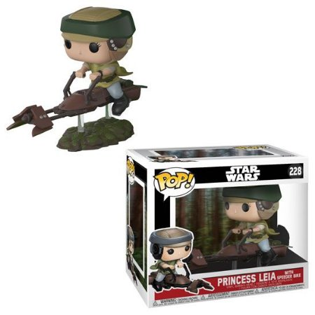 Funko Pop - Leia na Moto Speeder - Star Wars