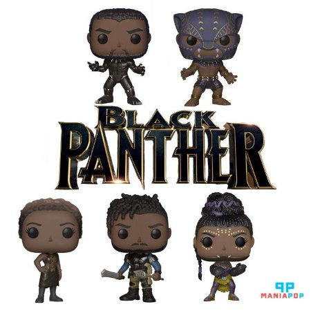 Funko Pop - Pantera Negra - Marvel - Vendidos Separadamente
