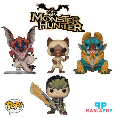Funko Pop - Monster Hunter - Vendidos Separadamente