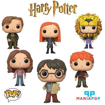 Pacote Funko Pop - Harry Potter - Coleção 4 - 6 personagens