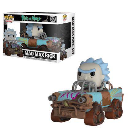 Funko Pop - Rick Mad Max - Rick and Morty
