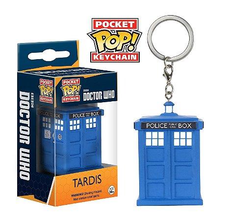 Funko Pocket - Chaveiro - Tardis - Doctor Who