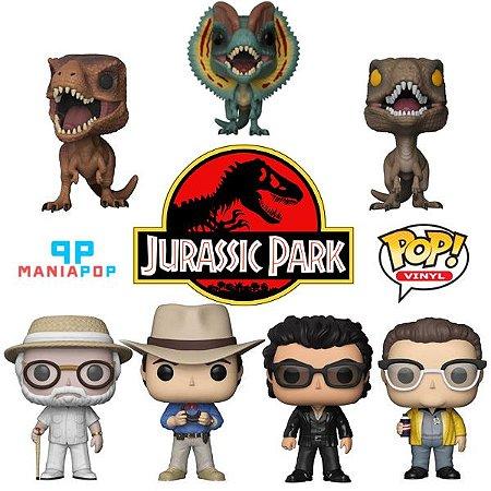 Funko Pop - Parque dos Dinossauros - Vendidos Separadamente