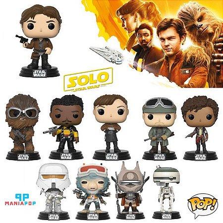 Funko Pop - Han Solo - Uma História Star Wars - Vendidos Separadamente