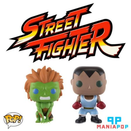 Funko Pop Street Fighter - Vendidos Separadamente