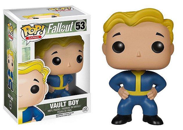 Funko Pop - Game Fallout - Vendidos Separadamente