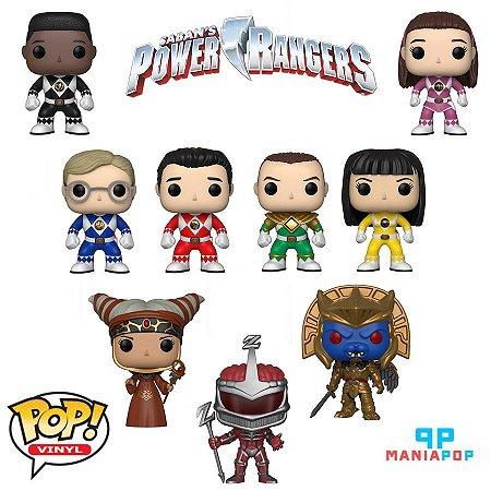 Funko Pop - Power Rangers - 25 anos - Vendidos Separadamente