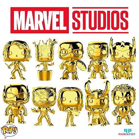 Funko Pop - 10 anos do Universo Cinematográfico da Marvel - Vendidos Separadamente