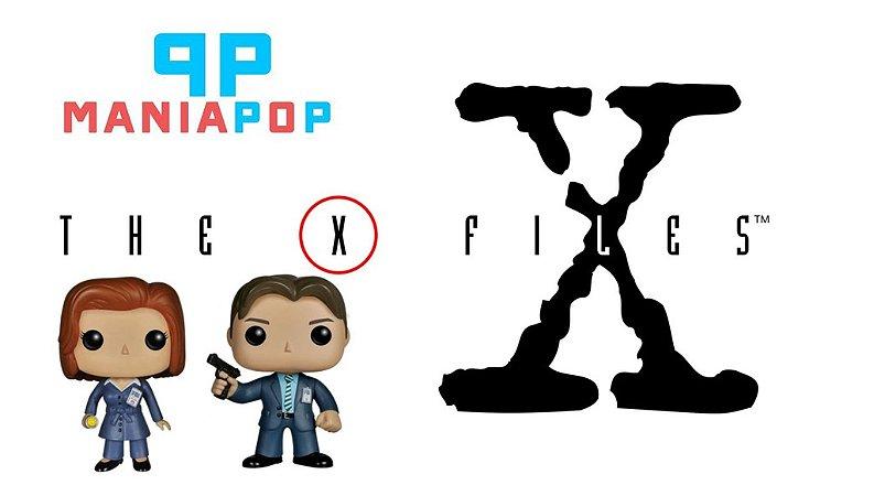 Funko Pop - Arquivo X - Agente Scully ou Agente Mulder