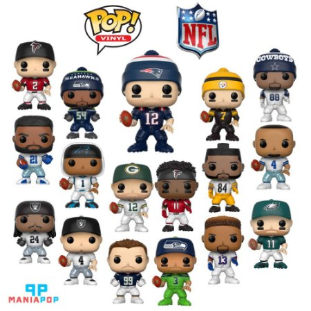 Funko Pop - Sports - NFL - Vendidos Separadamente