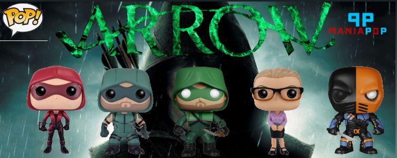 Funko Pop - Arrow - Versão Série - Arqueiro Verde ou Slade ou Felicity