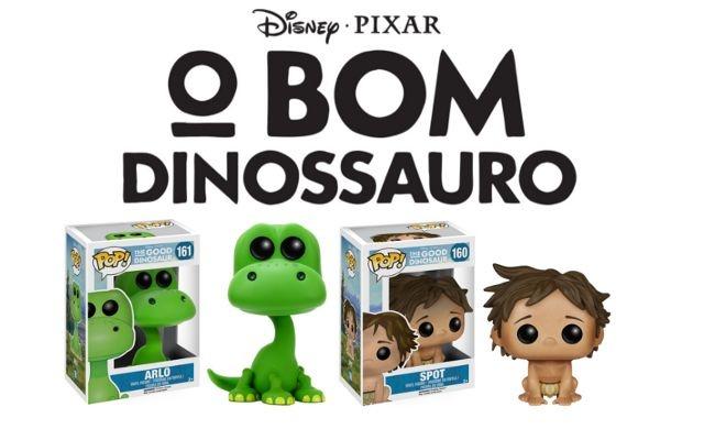 Funko Pop - O Bom Dinossauro - Arlo ou Spot