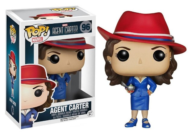 Funko Pop - Agente Carter - Marvel