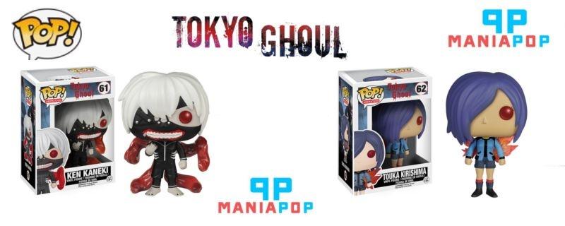 Funko Pop - Ken Kaneki ou Touka - Tokyo Ghoul