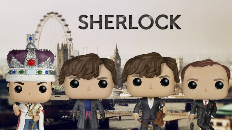Funko Pop - Sherlock - Série - Escolha a sua versão