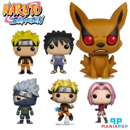 Funko Pop Naruto ou Sasuke - Anime