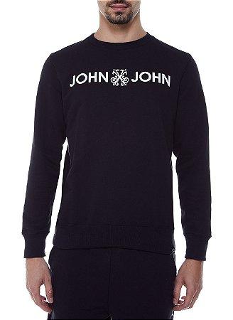 Casaco John John New Basic Black Masculina