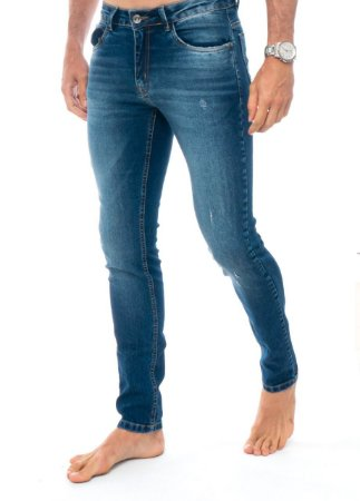 Calça Red Feather Jeans Destroyed Masculina