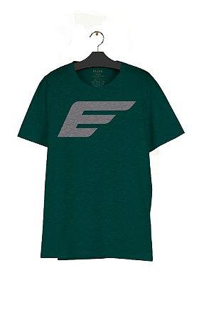 Camiseta Ellus Cotton Melange Maxi e Asa Masculina