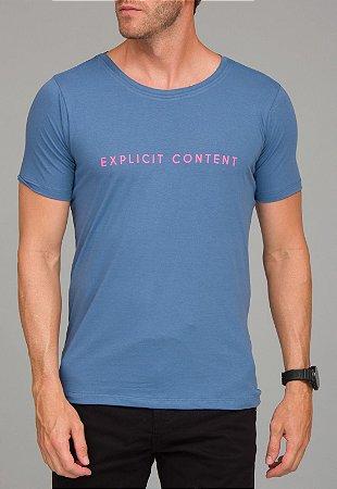 Camiseta Red Feather  Explicit Content Masculina