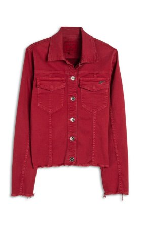 Jaqueta Ellus Jeans Denim Color Stretch Lilly Feminino
