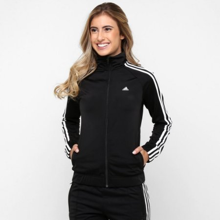 ee0cb62aa Jaqueta Adidas Pes Knit Essentials - Dom Store Multimarcas ...