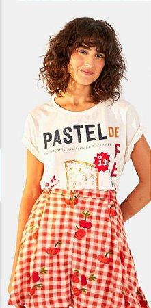 T-Shirt Farm Fit Silk Pastel de Feira