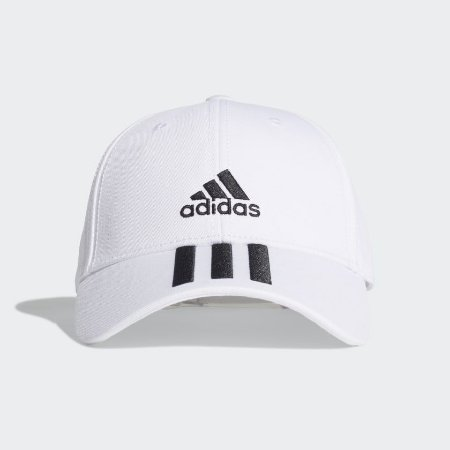 Boné Adidas Baseball Sarja 3-stripes Unissex Branco